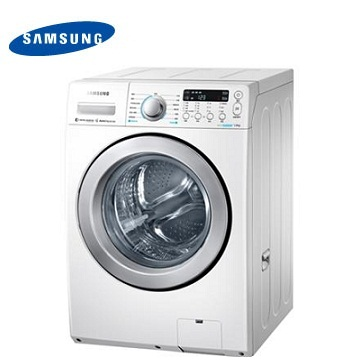 SAMSUNG 14公斤双效威力净洗脱烘滚筒洗衣机(WD14F5K5ASW/TW)