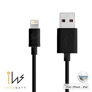 【2M】Innowatt蘋果認證Lightning 8Pin-黑(7740430)
