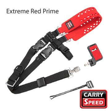 CARRY SPEED 相機背帶-紅(Prime Extreme Red)