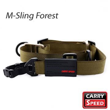 CARRY SPEED 速必達單雙肩兩用背帶-叢林綠(M-Sling Forest)