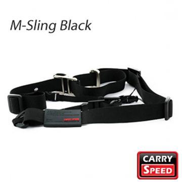 CARRY SPEED 速必達單雙肩兩用背帶-沉穩黑(M-Sling Black)