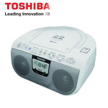 【福利品】 TOSHIBA NFC藍牙手提CD音響 TY-CWU11TW(TY-CWU11TW)