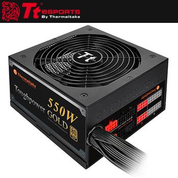 曜越Toughpower 550W 金牌電源供應器(PS-TPD-0550MPCGTW-1)