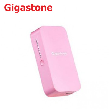 【5200mAh】Gigastone Power Bank 行動電源粉紅(P1H-52S-粉		)