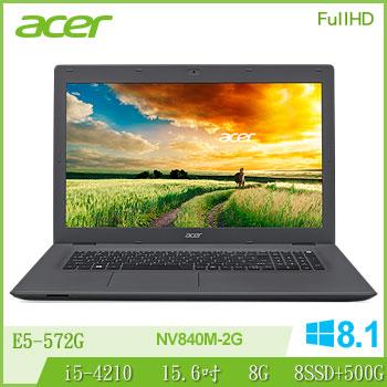 ACER 4代i5 2G獨顯FHD筆電(E5-572G-591D(FHD專))