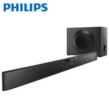 【福利品】PHILIPS NFC/藍牙微型劇院Sound Bar
