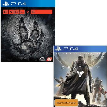 PS4 遊戲二合一超值組合包(DES~PS4)