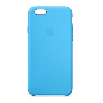 iPhone 6 矽膠護套 藍色(MGQJ2FE/A)