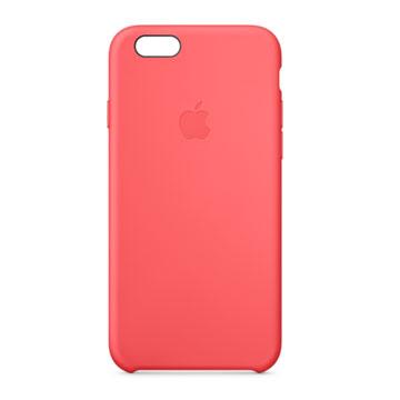 iPhone 6 矽膠護套 粉紅色(MGXT2FE/A)