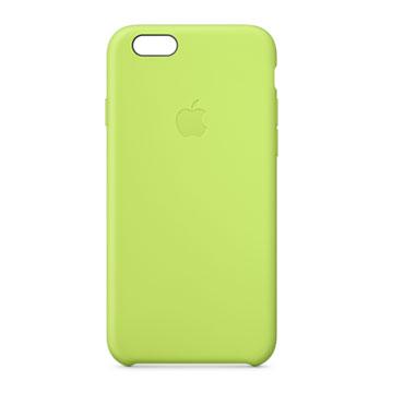 iPhone 6 矽膠護套 綠色(MGXU2FE/A)