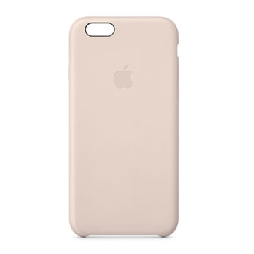 iPhone 6 皮革護套 粉色(MGR52FE/A)