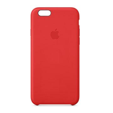 iPhone 6 皮革護套 豔紅色(MGR82FE/A)