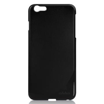 【iPhone 6 Plus】ahha 硬式保護殼-閃亮黑(A907932)