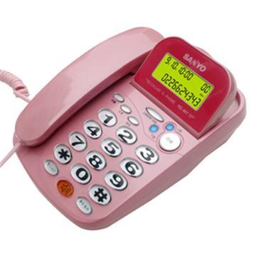 SANYO 來電顯示有線電話 TEL-807(TEL-807)