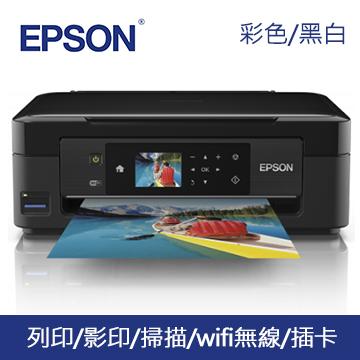 EPSON XP-422 Wifi雲端複合機(C11CD89503)