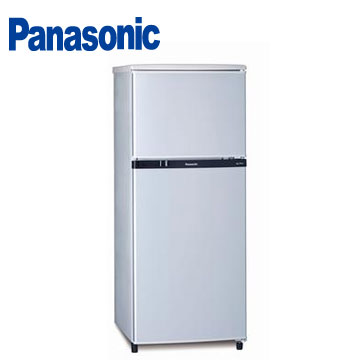 Panasonic 130公升雙門冰箱(NR-B138T-SL(銀))