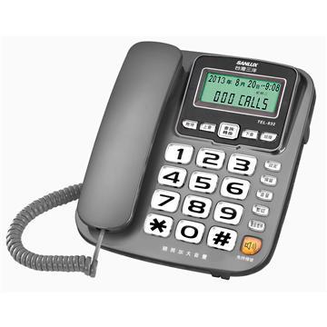 台灣三洋SANLUX助聽功能有線電話 TEL-832(TEL-832)