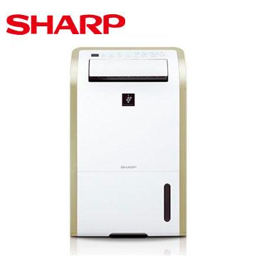 【福利品】SHARP 13公升清淨除濕機(DW-E13HT-W)