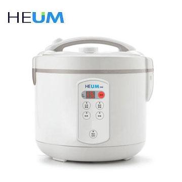 【福利品】HEUM 10人份微電腦厚釜電子鍋(HU-RS1016)