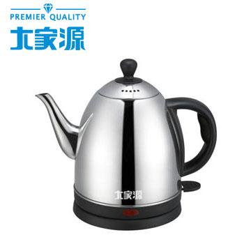 大家源不鏽鋼分離式快煮壺-1.0L(TCY-2710)