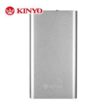 【3600mAh】 KINYO超薄型iPad用鋁鎂合金隨身電源(NB-701)