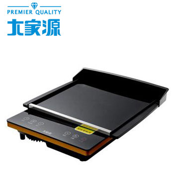大家源1200W微晶R電陶爐燒烤超值組(TCY-3916)