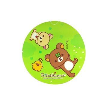 拉拉熊 圓形鼠墊-幸運草(JP-RK-MP06)