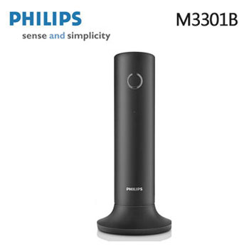 PHILIPS設計家節能數位無線電話 M3301B(M3301B(黑))