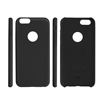 RA iPhone 6 運動風超薄玻璃+皮套-酷勁黑(4020104)