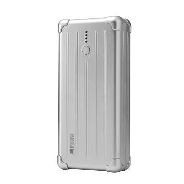 【6000mAh】Essential tpe iPad用行動電源-銀(ET-45001-1)