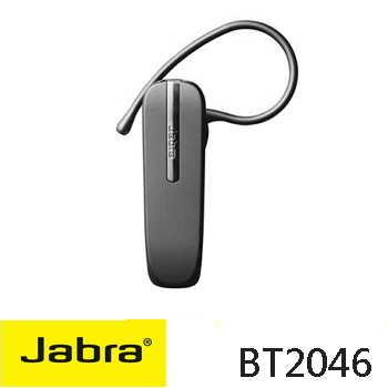 【8月加码】Jabra BT2046 时尚轻巧蓝牙耳机-黑(BT2046)