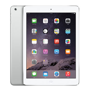 【16G】iPad Air 2 Wi-Fi 銀色(MGLW2TA/A)