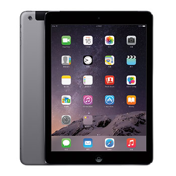 【64G】iPad Air 2 Wi-Fi + Cellular 太空灰(MGHX2TA/A)