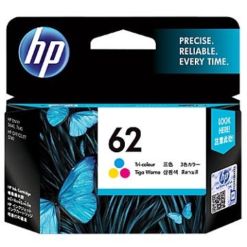 HP 62 彩色墨水匣(C2P06AA)