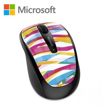 Microsoft無線行動鼠3500限量版-繃帶線條(GMF-00407)