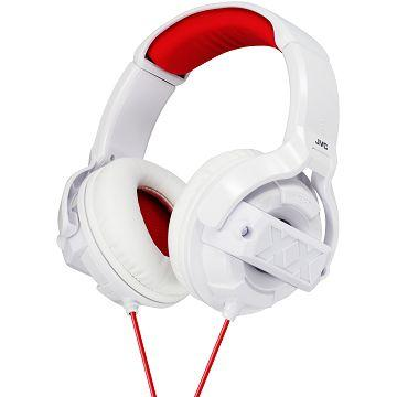 JVC 耳罩式耳機 HA-M55X-白(HA-M55X-W)