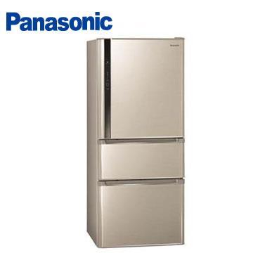 Panasonic 610公升ECO NAVI三門變頻冰箱(NR-C618HV-L(香檳金))