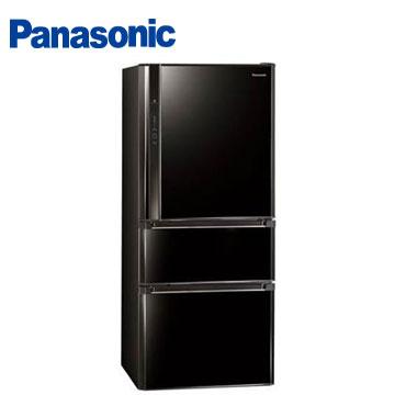 Panasonic 610公升ECO NAVI三門變頻冰箱(NR-C618HV-B(光釉黑))
