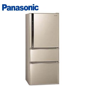 Panasonic610公升ECONAVInanoe三門變頻冰箱(NR-C618NHV-L(香檳金))