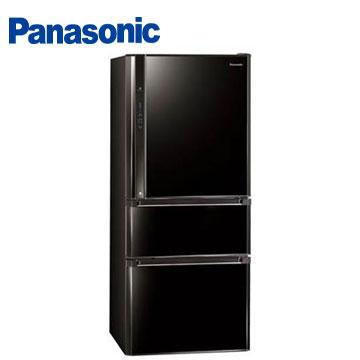 Panasonic610公升ECONAVInanoe三門變頻冰箱(NR-C618NHV-B(光釉黑))