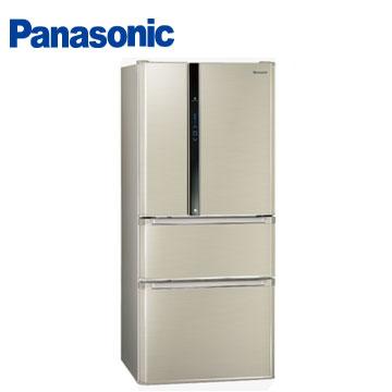 Panasonic 610公升ECO NAVI四門變頻冰箱(NR-D618HV-L(香檳金))
