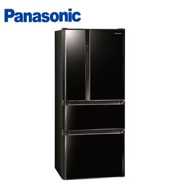 Panasonic 610公升ECO NAVI四門變頻冰箱(NR-D618HV-B(光釉黑))