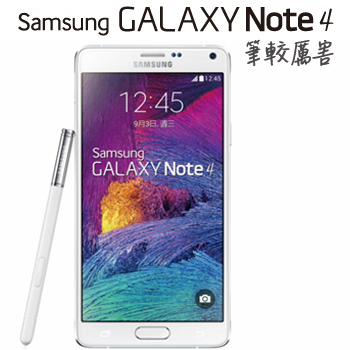 展-SAMSUNG Galaxy Note 4-LTE 4G-白
