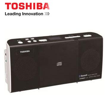 【福利品】 TOSHIBA NFC/藍牙手提CD音響(TY-CWU25TW)
