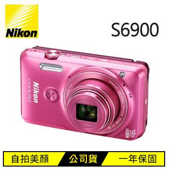 【展示機】Nikon S6900數位相機-粉