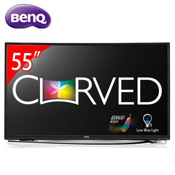 【福利品】 BenQ 55型 曲面LED顯示器(55RU6600(視150451))