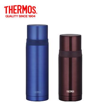 膳魔師實用真空保溫瓶-藍色+膳魔師實用真空保溫瓶-咖啡色()