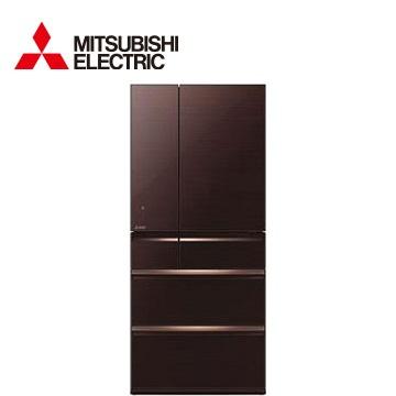 MITSUBISHI 705公升瞬冷凍1級六門冰箱(MR-WX71Y-BR)