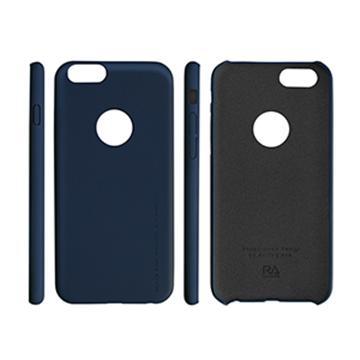 【iPhone 6 Plus】RA 運動風玻璃+皮套-快閃藍(4200205)
