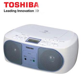 【福利品】 TOSHIBA USB手提CD音響 TY-CRU12TW(藍)(TY-CRU12TW(L)(藍))